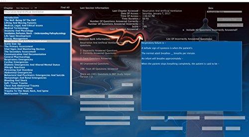 EMT Study Helper Software Version 7 0 - Knightlite - Based on Brady  Emergency Care 13th Edition Win/MacOS