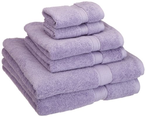 Superior 900gsm 6 Pc Pr Towel Set 6pc Purple
