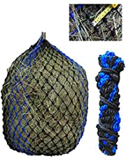 """TEKE Deluxe hayent with 1-3/4"""" mesh Holes (Small - Black/Blue)"""