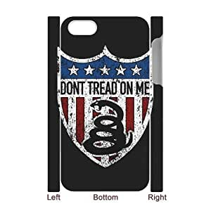 Don't Tread On Me 3D-Printed ZLB521472 Unique Design 3D Phone Case for Iphone 4,4S