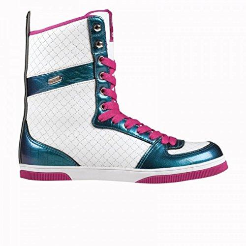 Le ragazze dei quartieri alti Osiris Ltd Boot Nero / Oro / trapuntato - Scarponi Snowboard Skateboard Scarpe Stivali, schuhgrösse:37.5
