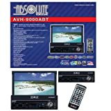 Absolute AVH-9000ABT 7-Inch In-Dash Multimedia Touch Screen System with Bluetooth, Analog TV Tuner and USB/SD Slot