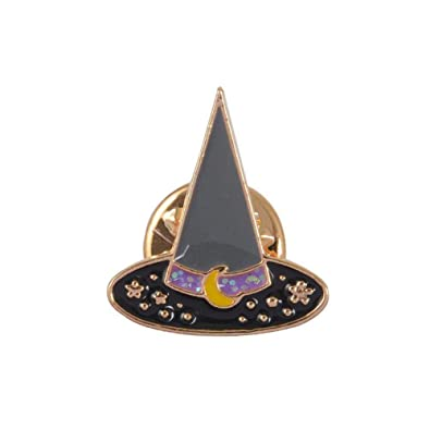 53538e404e9ff Buy Brooch Pins for Women - Enamel Halloween Witch Hat Pumpkin ...