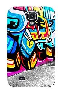 Hot Design Premium NRZUZVY7603vhIkE Tpu Case Cover Galaxy S4 Protection Case (graffiti)