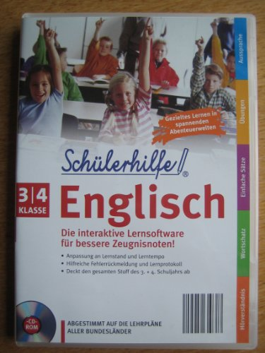 Schülerhilfe ~ Englisch ~ Klasse 3/4 ~ Die interaktive Lernsoftware für bessere Zeugnisnoten! ~ Abgestimmt auf die Lehrpläne aller Bundesländer