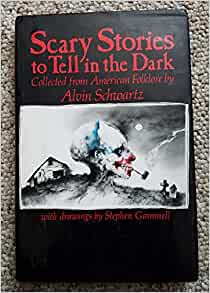 Scary stories to tell in dark book