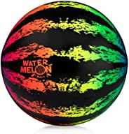 Watermelon Ball JR - Pool Toy for Underwater Games - Durable Ball for Pool Football, Basketball & Rugby -