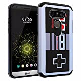 LG G5 Case, DURARMOR® G5 [Lifetime Warranty] Vintage Nintendo NES Game Controller Dual Layer Hybrid ShockProof Ultra Slim Fit Armor Air Cushion Defender Protector Case Cover for LG G5 (2016)