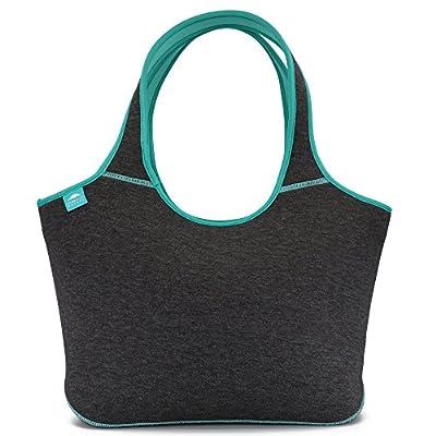 Multifunctional Large Neoprene Beach Bag | Zipper | Flexible | Washable | Baby