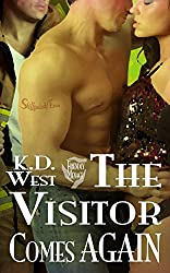 The Visitor Comes Again: A Friendly MMF Ménage Tale (Bisexual Threesome Erotic Romance) (The Visitor Saga Book 3)