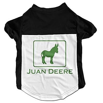 JUAN DEERE Latest Puppy Dog Clothes Sweaters Shirt Hoodie Coats