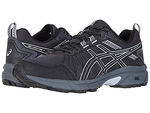 ASICS Women's Gel-Venture¿ 7 Black/Piedmont Grey 9 Wide US by ASICS