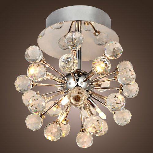 Lightinthebox Max 10w K9 Crystal Chandelier With 6 Lights