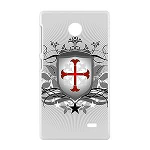 Simple Badge Custom Protective Hard Phone Cae For Nokia Lumia X
