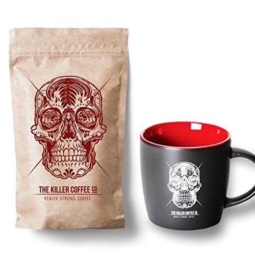 + Black Killer Mug - 16 Oz Great Coffee ()