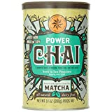 David Rio Organic Power Chai with Matcha, Vegan, Dairy Free, 14 Ounce