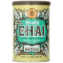 David Rio Organic Power Chai with Matcha, Vegan, Dairy Free, 14 Ounce