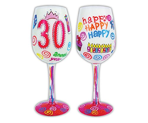Black Stem Flutes (30 Another Year- Bottom's Up Wine Glass)