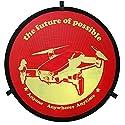 Bangcool ランディングパッド ポータブルドローン ランディングパッド ドローン パーキングパッド Mavic Air Pro用 レッド H1511O459AIZ