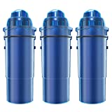 AQUACREST CRF-950Z Replacement Pitcher Water Filter, Compatible with Pur CRF-950Z Pitcher (Pack of 3)