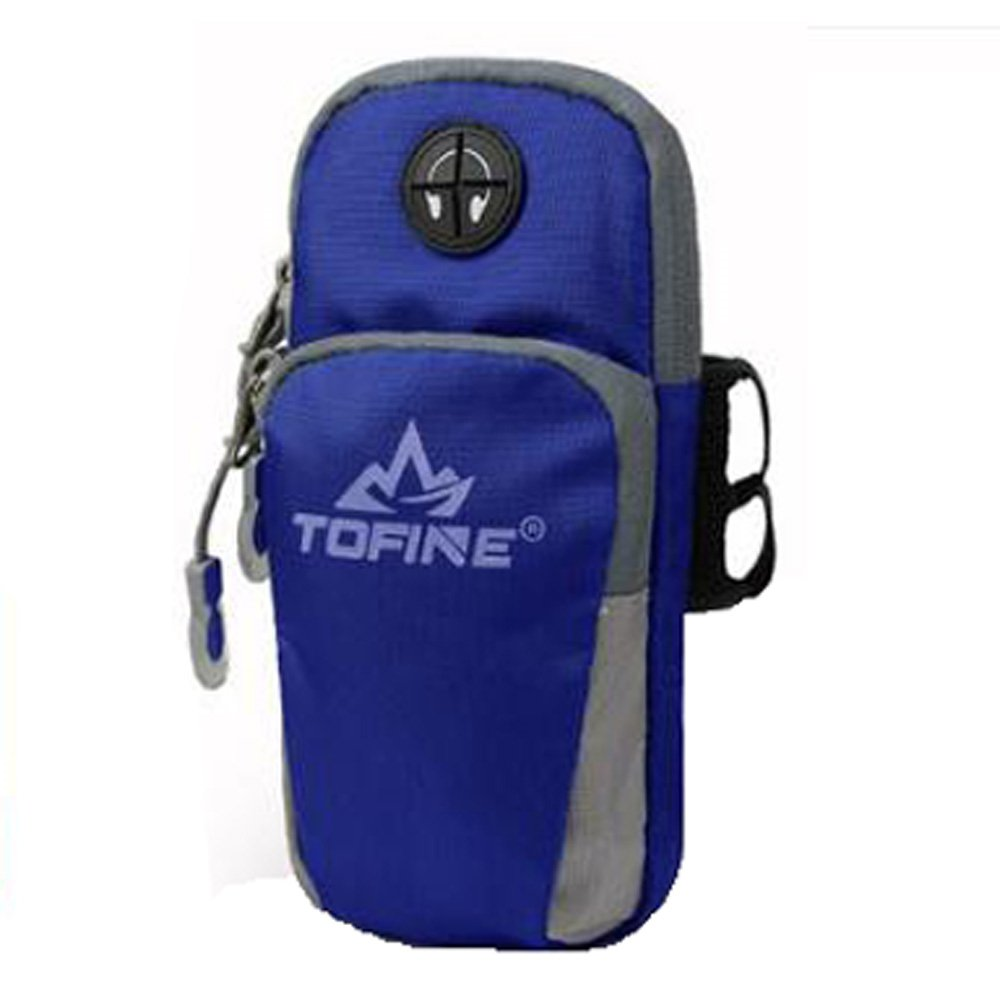 TOFINE Fitness Wristbands Universal Sport Running Armband Bag Pouch for LG G3 ipod 4 iPhone 4 4s 5 5c SE