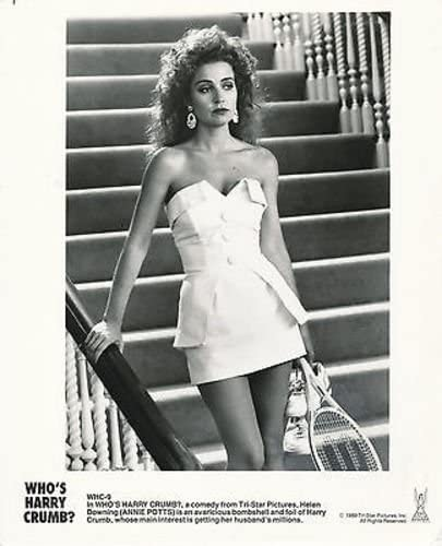 Annie Potts Who S Harry Crumb 8x10 Original Photo Aa6607 At Amazon S Entertainment Collectibles Store