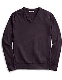 "<span class=""a-offscreen"">[Sponsored]</span>Mens V-Neck Merino Sweater"