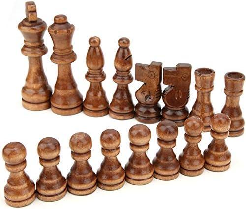 Internationaal schaak van hoge kwaliteit schaakspel vakmanschap voor interactie tussen ouder en kind voor kinderen en volwassenen ouder dan 3 jaar