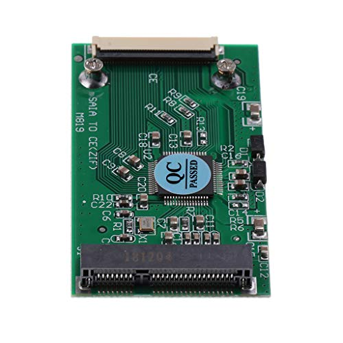 gazechimp 1.8'' Mini PCI-E MSATA SSD Convert to 1.8inch ZIF CE Cable Adapter Card 1.8' Zif Hard Disk