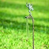 SPI Home 33170 Frog Rain Gauge Garden Stake