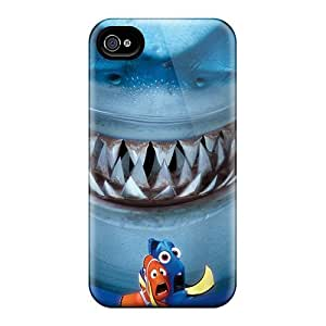 Defender Cases With Nice Appearance (3d Finding Nemo) For Iphone 4/4s