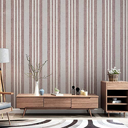 Mediterranean red blue striped wallpaper modern minimalist living room bedroom background wall paper (Color : Color 2) ()