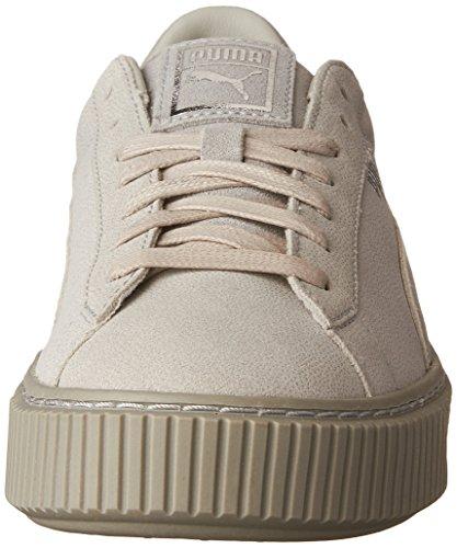 gray Violet Suede Violet Gray Basses Sneakers Femme Platform Puma x7nOfqAwf