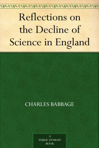 Reflections on the Decline of Science in England