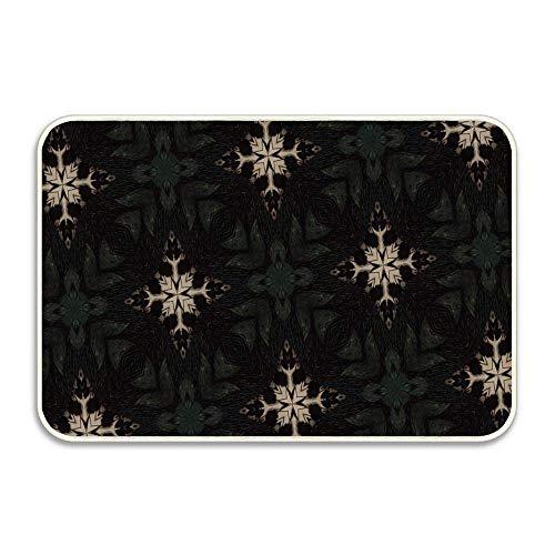 Mosaic Coco Stick - Patterns Forms Mosaic Plexus Geometric Customizable Doormat Home Door Mats Entrance Mat Floor Rug Indoor/Outdoor/Front Door/Bathroom Mats Rubber Non Slip Backing