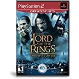 Lord of the Rings Two Towers Ps2 Original Americano Completo - Greatest Hits