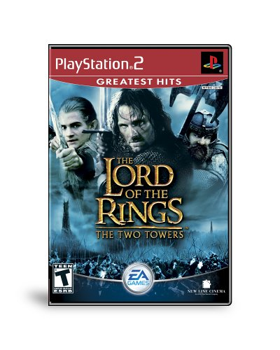 Lord of the Rings The Two Towers - PlayStation 2 (Complete Console Ps2)