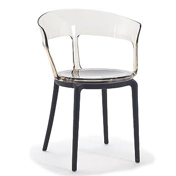 CJH Chaise De Designer Creative Minimaliste Moderne Clubhouse Htel Dossier En Plastique Caf