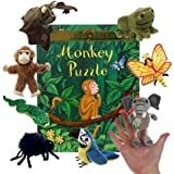 The Puppet Company - Monkey Puzzle Book with Puppets
