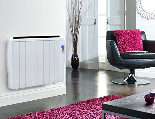 Lodel by Haverland HE 1500 watt Slimline Eco Electric Panel Heater Radiator  with 24 7. Lodel by Haverland HE 1500 watt Slimline Eco Electric Panel Heater