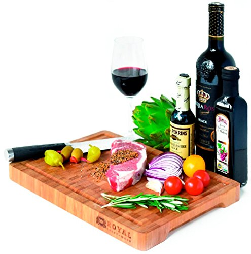 Thick End Grain Bamboo Wood Cutting Board/Kitchen Butcher Bl