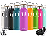 Super Sparrow Stainless Steel Vacuum Insulated Water Bottle,...