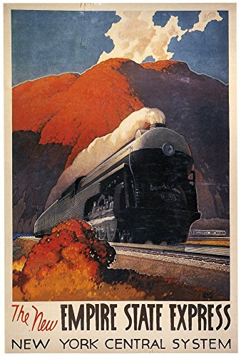American Train PosterNposter C1942 For The New Empire State Express Between New York City And East Buffalo Poster Print by (24 x 36) - New Empire State Express