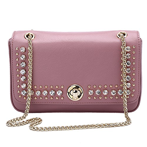 Mother's Day Gift Leather Crossbody Bag for Women Lambskin Shoulder Bags Handbag Purses
