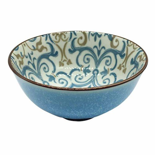 L'Hermitage CH1545-4.75-1114-HY004, Bowl Mix&Match em Porcelana, Multicor, 12.5 cm