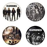refrigerator badge - RAMONES round badges 1.75