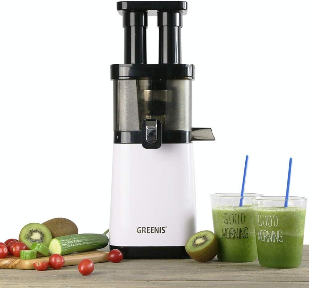 Exprimidor de jugo de frutas y verduras Greenis F-9088 Twin Star ...