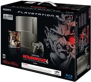 PlayStation 3 40GB Metal Gear Solid 4 Gray Kojima Bundle