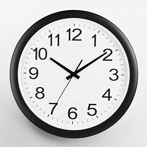amazon kaige wall clocks modern wall charts round mute quartz Print Font Size 9.5 kaige wall clocks modern wall charts round mute quartz clock size 16 inches