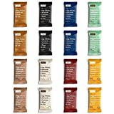 RXBAR Whole Food Protein Bar, Random Flavor Variety 1 Pack (2 bars of 8 Random Flavors, 16 bars total)